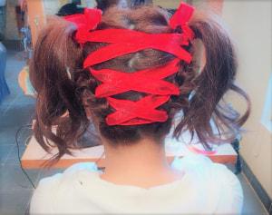 幼馴染のヘアセット!